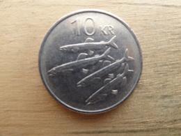 Islande    10  Kronur    1987  Km 29 - Iceland