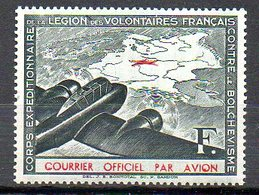 LVF02 : France LVF Neuf Charnière Yvert N°2 - Guerres