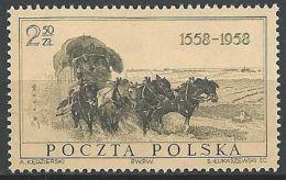 POLEN 1958 Mi-Nr. 1072 ** MNH - Unused Stamps