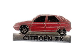 Pin's - VOITURE ROUGE -  CITROEN ZX - Badges