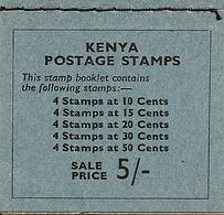 KENYA, 1964, Booklet 1, 5s Independence - Kenya (1963-...)