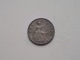 1936 - 1 Penny / KM 838 ( For Grade, Please See Photo ) ! - 1902-1971: Postviktorianische Münzen