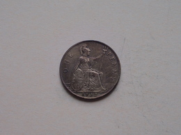 1932 - 1 Penny / KM 838 ( For Grade, Please See Photo ) ! - 1902-1971: Postviktorianische Münzen