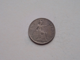 1930 - 1 Penny / KM 838 ( For Grade, Please See Photo ) ! - 1902-1971 : Monnaies Post-Victoriennes
