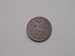1930 - 1 Penny / KM 838 ( For Grade, Please See Photo ) ! - 1902-1971: Postviktorianische Münzen
