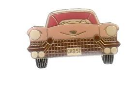 Pin's - VOITURE ROSE - CAD 57 - Badges