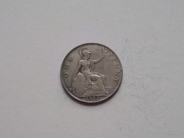 1922 - 1 Penny / KM 810 ( For Grade, Please See Photo ) ! - 1902-1971 : Monnaies Post-Victoriennes
