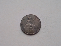 1911 - 1 Penny / KM 810 ( For Grade, Please See Photo ) ! - 1902-1971 : Monnaies Post-Victoriennes