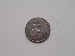 1911 - 1 Penny / KM 810 ( For Grade, Please See Photo ) ! - 1902-1971: Postviktorianische Münzen
