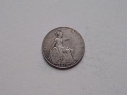 1912 - 1 Penny / KM 810 ( For Grade, Please See Photo ) ! - 1902-1971: Postviktorianische Münzen