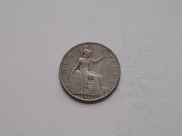 1913 - 1 Penny / KM 810 ( For Grade, Please See Photo ) ! - 1902-1971 : Monnaies Post-Victoriennes