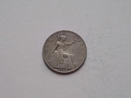 1913 - 1 Penny / KM 810 ( For Grade, Please See Photo ) ! - 1902-1971: Postviktorianische Münzen