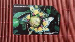 Phonecard Sierra Leone Buterfly Rare - Sierra Leone