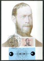 """Germany 1994 Maximumkarte Heinrich Hertz Mi.Nr.1710 MK""""100.Todestag Von Heinrich Hertz,Physiker """"mit ESST"""" 1 MK - Physique"""