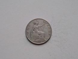 1902 - 1 Penny / KM 794.2 ( For Grade, Please See Photo ) ! - 1902-1971: Postviktorianische Münzen