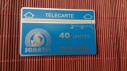Phonecard  Landis & Gyr Senegal 012 B Used Rare - Senegal