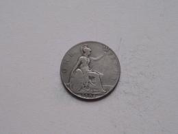 1908 - 1 Penny / KM 794.2 ( For Grade, Please See Photo ) ! - 1902-1971: Postviktorianische Münzen
