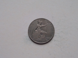 1909 - 1 Penny / KM 794.2 ( For Grade, Please See Photo ) ! - 1902-1971 : Monnaies Post-Victoriennes