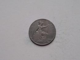1909 - 1 Penny / KM 794.2 ( For Grade, Please See Photo ) ! - 1902-1971: Postviktorianische Münzen
