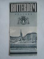 ROTTERDAM. HOLLAND - NETHERLANDS, 1949. - Dépliants Touristiques