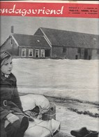 Zondagsvriend, 18.2.1953, Watersnood 1953, 32 Blz. Foto's En Uitleg, Originele Publicatie. - Revues & Journaux