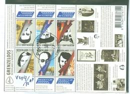 NEDERLAND * V 2967 - 2972a * BLOK * BLOC * BLOCK * NETHERLANDS * POSTFRIS GESTEMPELD * GRENZELOOS - Period 1980-... (Beatrix)
