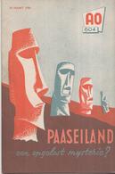 AO-reeks Boekje 604 - Ferdinand Van Leeuwen: Paaseiland Een Opgelost Mysterie? - 29-03-1956 - Geschiedenis