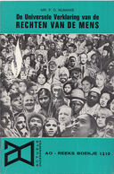 AO-reeks Boekje 1210 - Mr. P.O. Numans: De Universele Verklaring Van De Rechten Van De Mens - 26-04-1968 - Geschiedenis