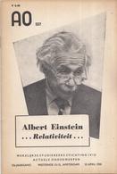 AO-reeks Boekje 557 - Dr. W.J.A. Schouten: Albert Einstein Relativiteit - 22-04-1955 - History