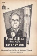 AO-reeks Boekje 552 - Dr. G.J. Menken/redactie AO: Penicilline Was Mijn Levenswerk - 18-03-1955 - Geschiedenis