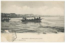 Mattosinhos Partindo Para A Pesca Editor Ferreira  Stamp Removed - Porto