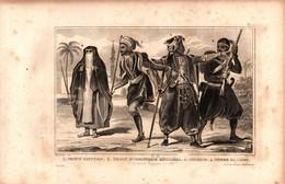 Egypte - Prince égyptien - Soldat D'infanterie Régulière - Coureur - Femme Du Caire - Stampe & Incisioni