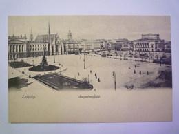 LEIPZIG  :   Augustusplatz    - Leipzig