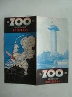 ROTTERDAM. ZOO BLIJDORP - HOLLAND, NETHERLANDS, 1955 APROX. - Reiseprospekte