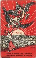 -guerre 1914-18 -ref M176- Illustrateurs - Illustrateur Aurrens -satirique - Guillaume 2 Le Kaiser - Pax - - War 1914-18