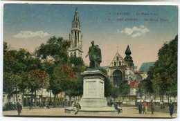 CPA - Carte Postale - Belgique - Anvers - La Place Verte - 1923 (CP2363) - Antwerpen