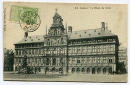 CPA - Carte Postale - Belgique - Anvers - Hôtel De Ville - 1907 (CP2364) - Antwerpen