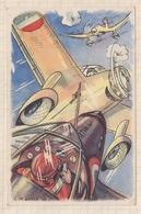 8AK803 MILITIRIA Combat Aerien 15 Juin 1940 Le Pilote LE BIHAN Marcel L.M BAYLE 44  2 SCANS - Humoristiques