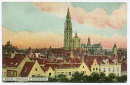 CPA - Carte Postale - Belgique - Anvers - Panorama Et Cathédrale (CP2366) - Antwerpen