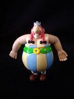 Personnage D'Astérix : Obélix Figurine Plastique Bras Articulés - Goscinny - Uderzo H. 10cm - Other Collections