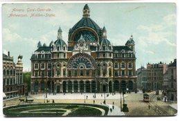 CPA - Carte Postale - Belgique - Anvers - Gare Centrale (CP2368) - Antwerpen