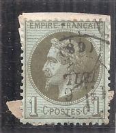 ---  NAPOLEON LAURE Côte 20€ --- N 25 - TTB - 1863-1870 Napoléon III Con Laureles
