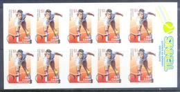 G373- Australia Legends Of Singles Tennis Self Adhesive Stamps Of Pat Cash. - Australia