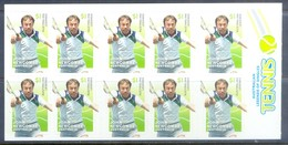 G375- Australia Legends Of Singles Tennis Self Adhesive Stamps Of John Newcombe. - Australia