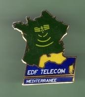 EDF TELECOM MEDITERRANEE *** 0012 - EDF GDF