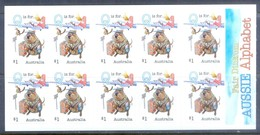 G381- Australia Self Adhesive Stamps Of Fair Dinkum Aussie Alphabet. - Australia