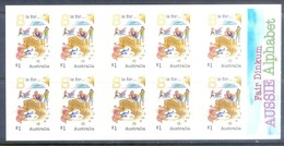 G382- Australia Self Adhesive Stamps Of Fair Dinkum Aussie Alphabet. - Australia