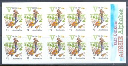G385- Australia Self Adhesive Stamps Of Fair Dinkum Aussie Alphabet. - Australia