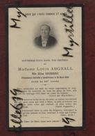 Faire-part De Décès - (1918) Memento Madame Louis Abgrall Née Elisa Soubigou - Landivisiau - Obituary Notices