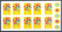 G390- Australia Self Adhesive Stamps Of LOVE Celebrate. - Australia